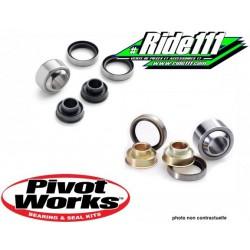Kit roulement ou rotule inférieur et supérieur d'amortisseur PIVOT WORKS KTM 125-200-250-300-380 EXC