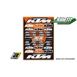 Kit Stickers BLACKBIRD KTM SX-EXC