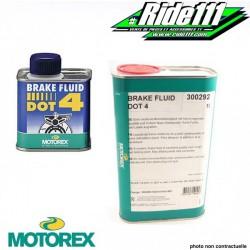 "Liquide de frein ""BRAKE FLUID DOT 4"" MOTOREX"