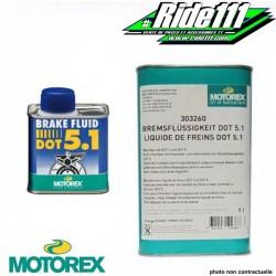 "Liquide de frein ""BRAKE FLUID DOT 5"" MOTOREX"