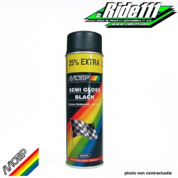Peinture Spray Noir Satin Motip 500Ml