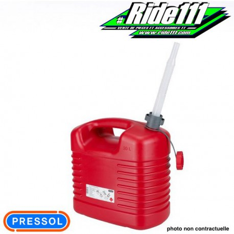 Jerrican Hydrocarbure 20L 893012 PRESSOL