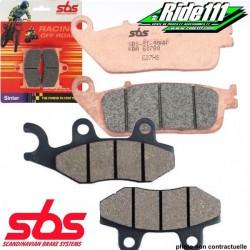 Plaquettes de frein avant ou arrière SBS HONDA 500 CR-R