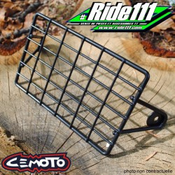 Grille protection phare 9X15cm CEMOTO