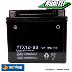 Batterie TECNIUM  SUZUKI DR 650 R 1992-1995