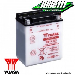 Batterie YUASA  HONDA XRV 650 AFRICA TWIN 1988-1992