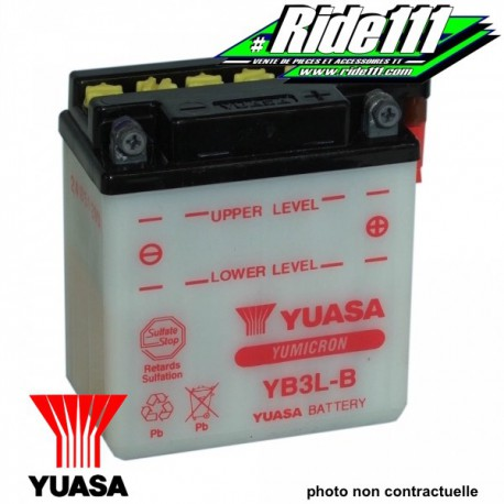 Batterie YUASA YAMAHA DT 125 LC
