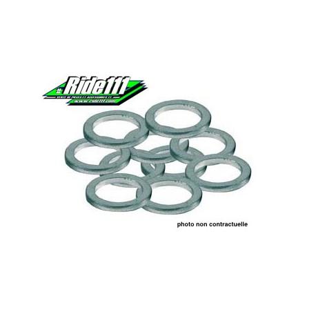 Joint rondelle aluminium