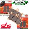 Plaquettes de frein avant SBS HONDA 125 CRM 1990-2002
