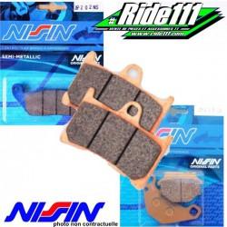 Plaquettes de frein avant NISSIN HONDA NX 650 DOMINATOR