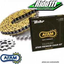 Kit Chaine AFAM   HONDA 125 CRM 1990-2002