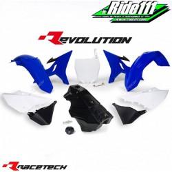 Kit RACETECH REVOLUTION YAMAHA YZ 125/250 2002-2019 Bleu / Blanc / Noir