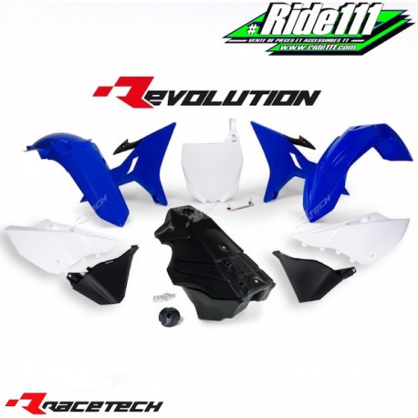 Kit RACETECH REVOLUTION YAMAHA YZ 125/250 2002-2017 Bleu / Blanc / Noir