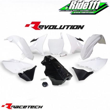 Kit RACETECH REVOLUTION YAMAHA YZ 125/250 2002-2017 Blanc / Noir
