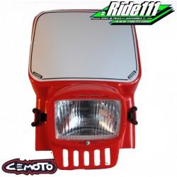 Plaque phare CEMOTO 2090 Rouge