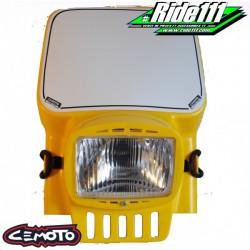 Plaque phare CEMOTO 2090 Jaune