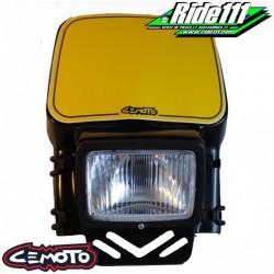 Plaque phare CEMOTO 2208 Noire
