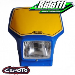 Plaque phare CEMOTO 2400 Bleue