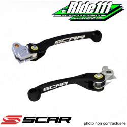 Leviers repliables SCAR KTM 350 SXF-EXCF