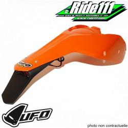 Garde boue arrière avec feu et support plaque UFO KTM 125-200 EXC