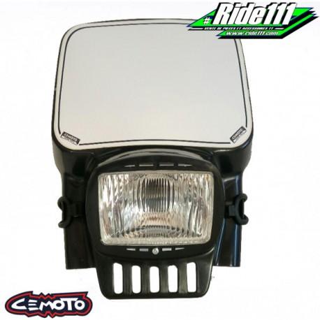 Plaque phare CEMOTO 2090 Noire