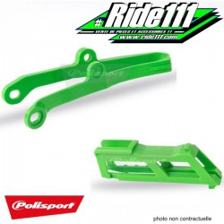 Kit Patin + Guide chaine POLISPORT KAWASAKI 450 KX-F