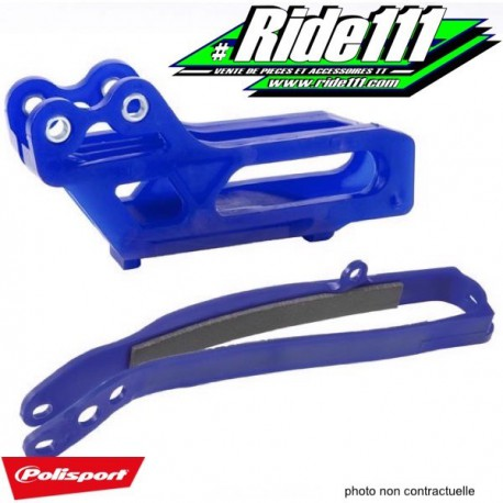 Kit Patin + Guide chaine POLISPORT YAMAHA 450 YZ-F