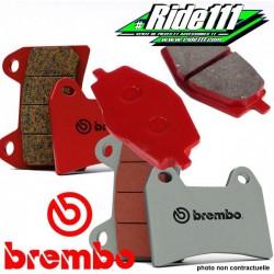 Plaquettes de frein avant ou arrière BREMBO YAMAHA 125 YZ