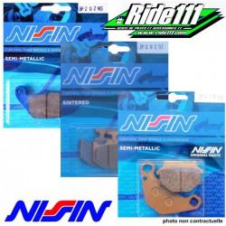 Plaquettes de frein avant ou arrière NISSIN HONDA 125-250 CR-R