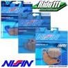 Plaquettes de frein avant ou arrière NISSIN YAMAHA 250 TTR