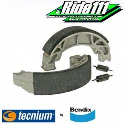 Machoires de frein arrière BENDIX  SUZUKI DR 125 S