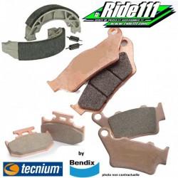 Plaquettes ou Machoires de frein avant ou arrière TECNIUM KAWASAKI 125 KX