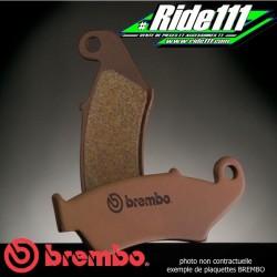 Plaquettes de frein avant ou arrière Première Monte BREMBO KTM 125 SX-MX