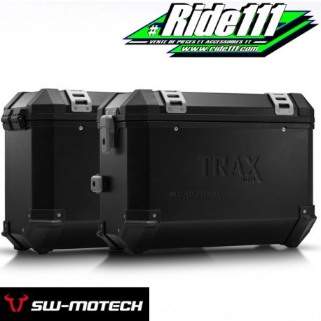 Kit Valises SW-MOTECH TRAX ION Noir SUZUKI DL 1000 V-STROM