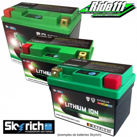 Batterie LITHIUM SKYRICH  SUZUKI DR 800 S à partir de 1990