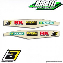 Stickers protection bras oscillant BLACKBIRD KTM 125-525 SX-SXF 1998-2015