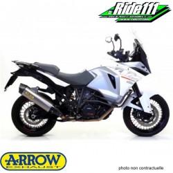 Silencieux d'échappement ARROW MAXI RACE TECH Aluminium KTM 1050 ADVENTURE