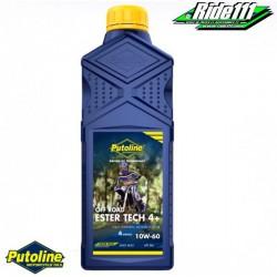 Huile moteur PUTOLINE 4 Tps Ester Tech Off Road 4+ 10w60 1 litre