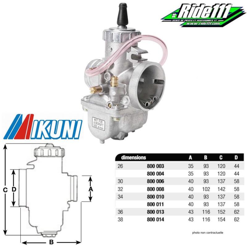 Carburateurs mikuni vm 2 temps - Reglage carburateur 2 temps ...