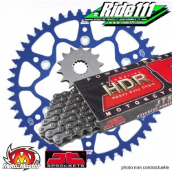 Kit Chaine MOTO MASTER / JT 428 Alu 85 YZ grandes roues