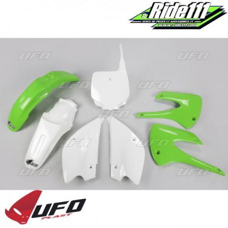 Kit plastiques UFO KAWASAKI 85 KX Restylé