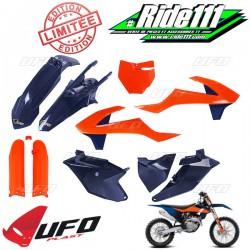 Kit plastiques UFO Bleu / Orange KTM 85 SX 2018 à 2020