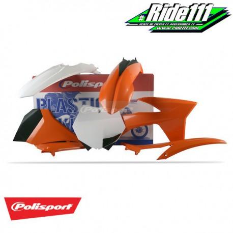 Kit plastiques POLISPORT KTM 250/350/450 SX-F