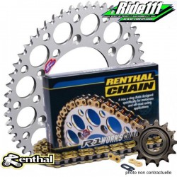 Kit Chaine RENTHAL 428 R1 85 YZ grandes roues