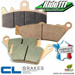 Plaquettes  de frein avant ou arrière CL BRAKES HONDA 600-650 XR-R