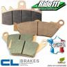 Plaquettes de frein arrière CL BRAKES KAWASAKI 125 KDX