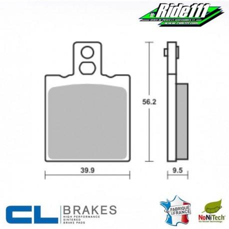 Plaquettes de frein arrière CL BRAKES HONDA 125 CRM