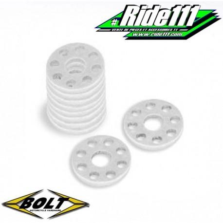 Pack rondelle percée aluminium BOLT