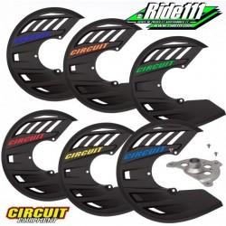 Protège disque avant CIRCUIT Carbone avec kit fixation KTM 125 à 450 SX et SX-F 2015 à 2020
