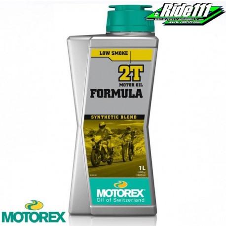 Huile moteur MOTOREX FORMULA 2T semi-synthétique 1L à + 2